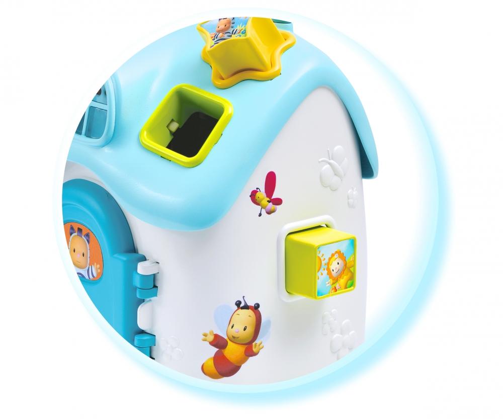 cotoons elektronisches steckspielhaus blau lernspielzeug babyspielzeug cotoons baby. Black Bedroom Furniture Sets. Home Design Ideas