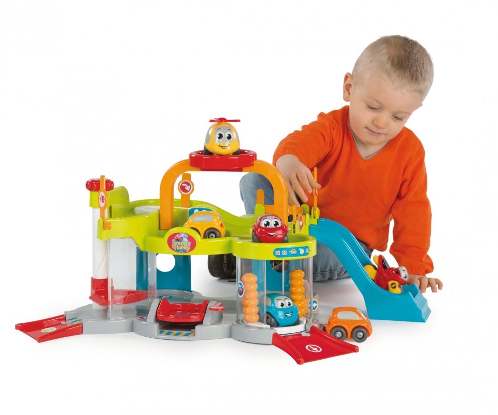 Vroom planet multi garage spielsets garagen smoby planet baby kleinkind marken - Smoby vroom planet garage ...