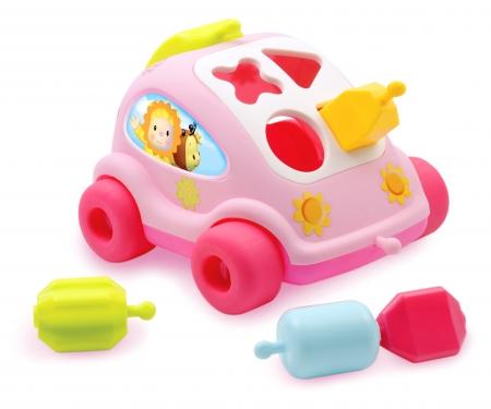 COTOONS SHAPE SORTER CAR ASST