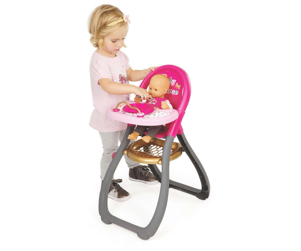 Bn highchair baby nurse doll accessories products for Chaise haute toys r us
