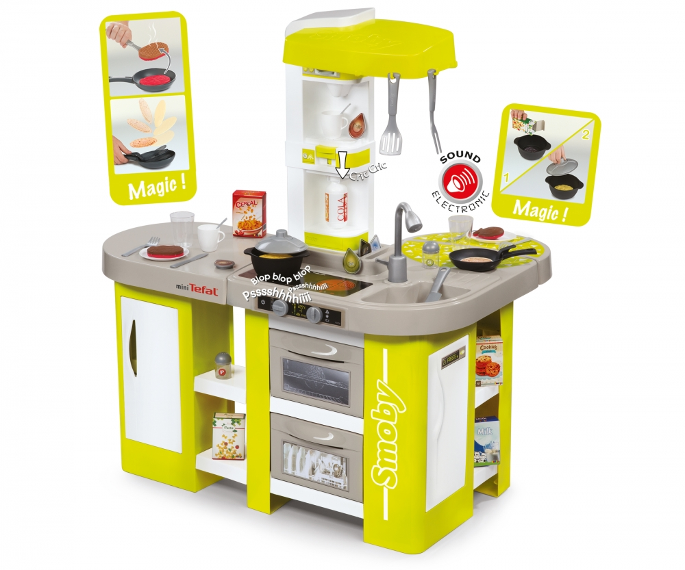 Tefal cuisine studio xl cuisines et accessoires jeux d for Cuisine tefal smoby