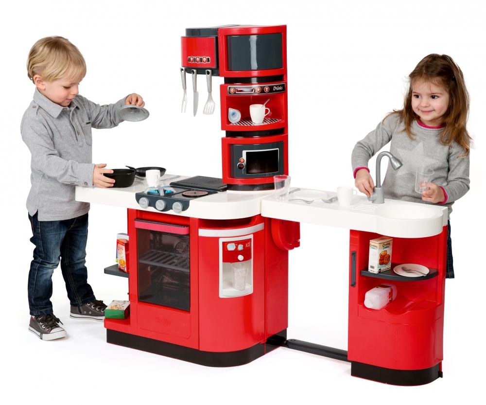 Accessoire de cuisine rouge set accessoires gourmandise for Kidkraft cuisine rouge
