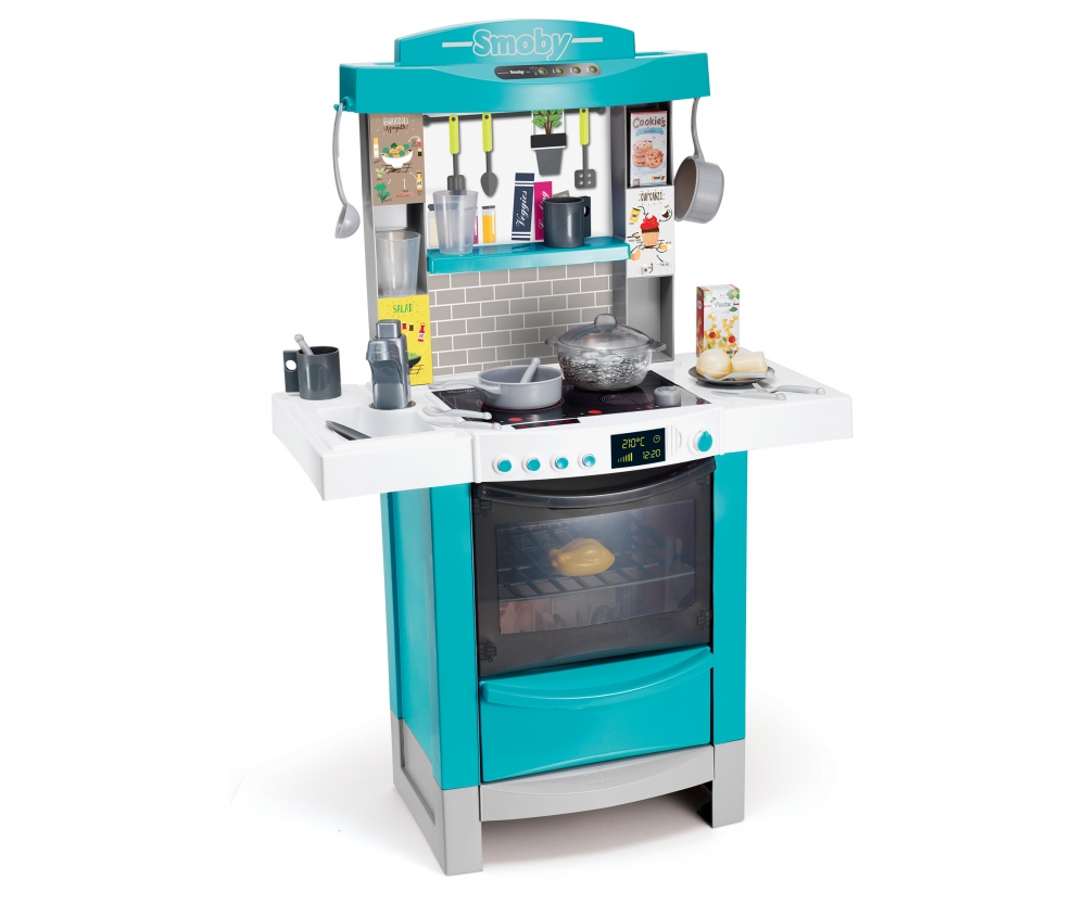 Cuisine cooktronic bulles cuisines et accessoires jeux for Cuisine tefal smoby