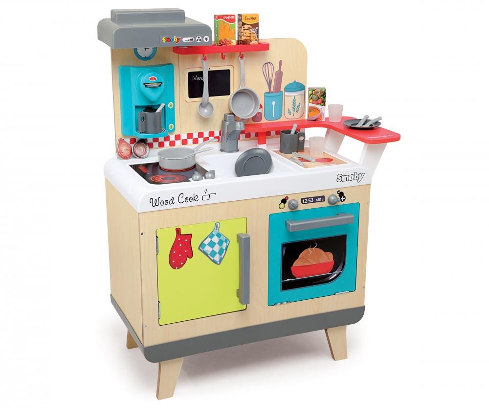 Cuisine bois gm cuisines et accessoires jeux d for Produit cuisine