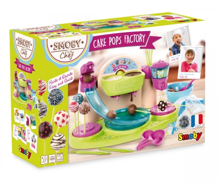 SMOBY CHEF CAKE POP FACTORY