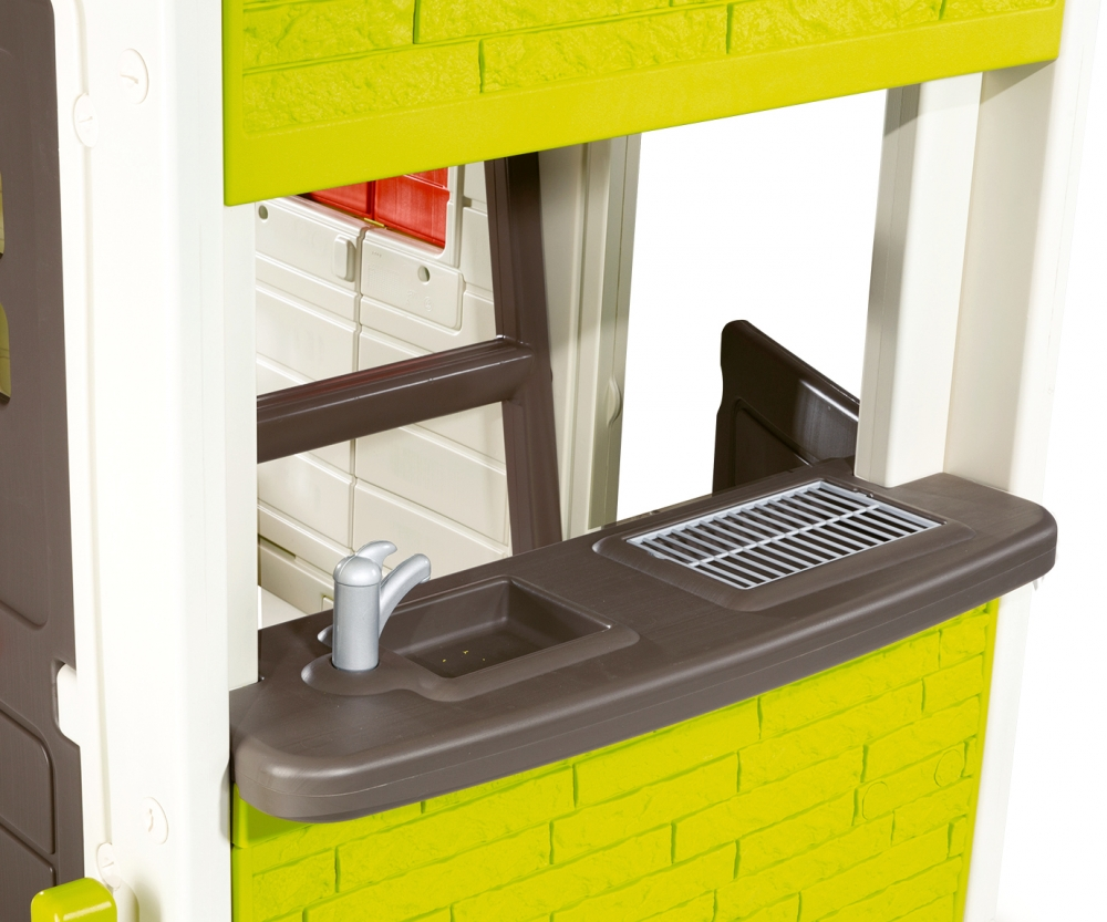 Duplex Spielhaus - Spielhäuser - Outdoor - MARKEN & PRODUKTE - www.smoby.com