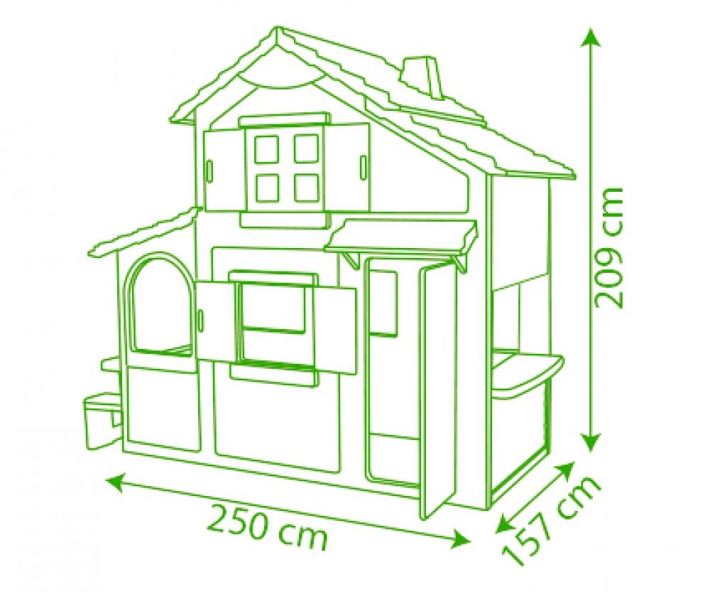 duplex spielhaus - spielhäuser - outdoor - marken & produkte - www