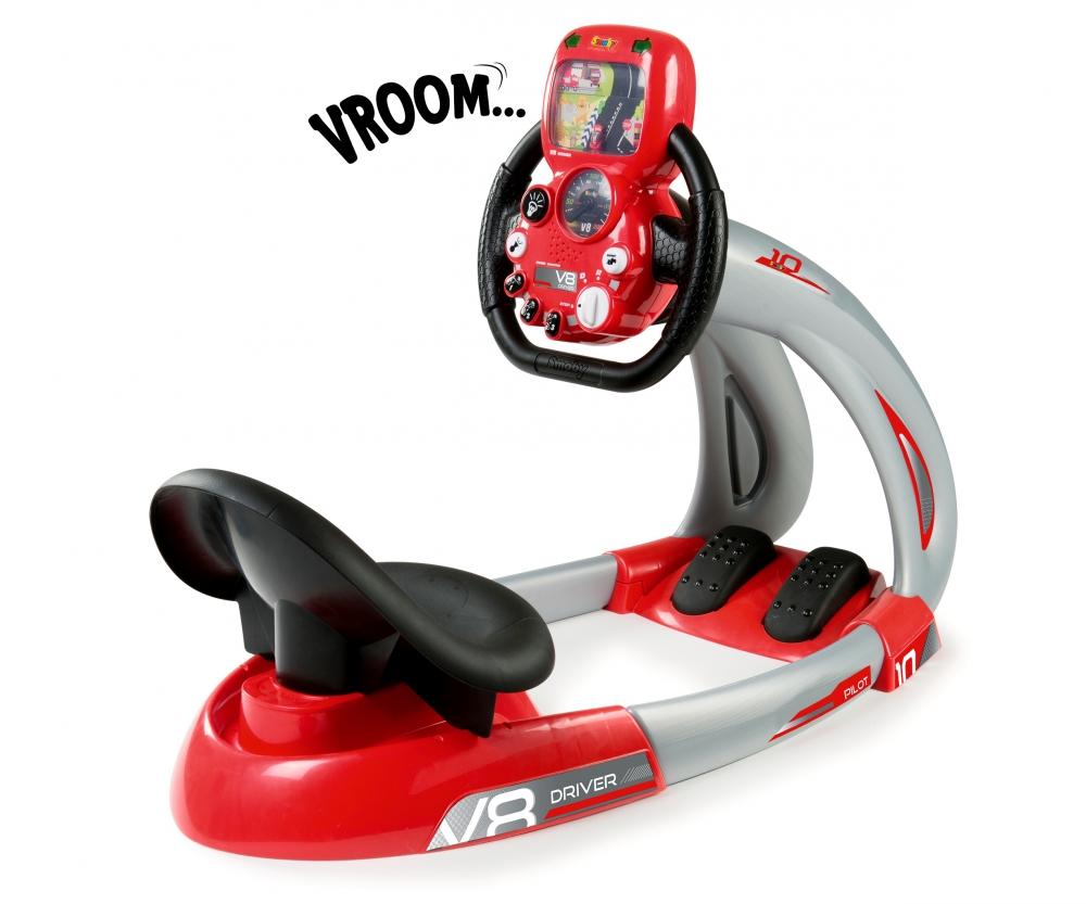 smoby pilot v8 driver support simulateur de conduite jeux d 39 imitation produits www. Black Bedroom Furniture Sets. Home Design Ideas