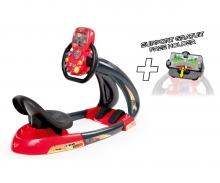 CARS CARBONE V8 DRIVER + SMARTPHONE HOLDER