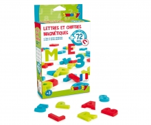 72 magnetische Buchstaben + Zahlen