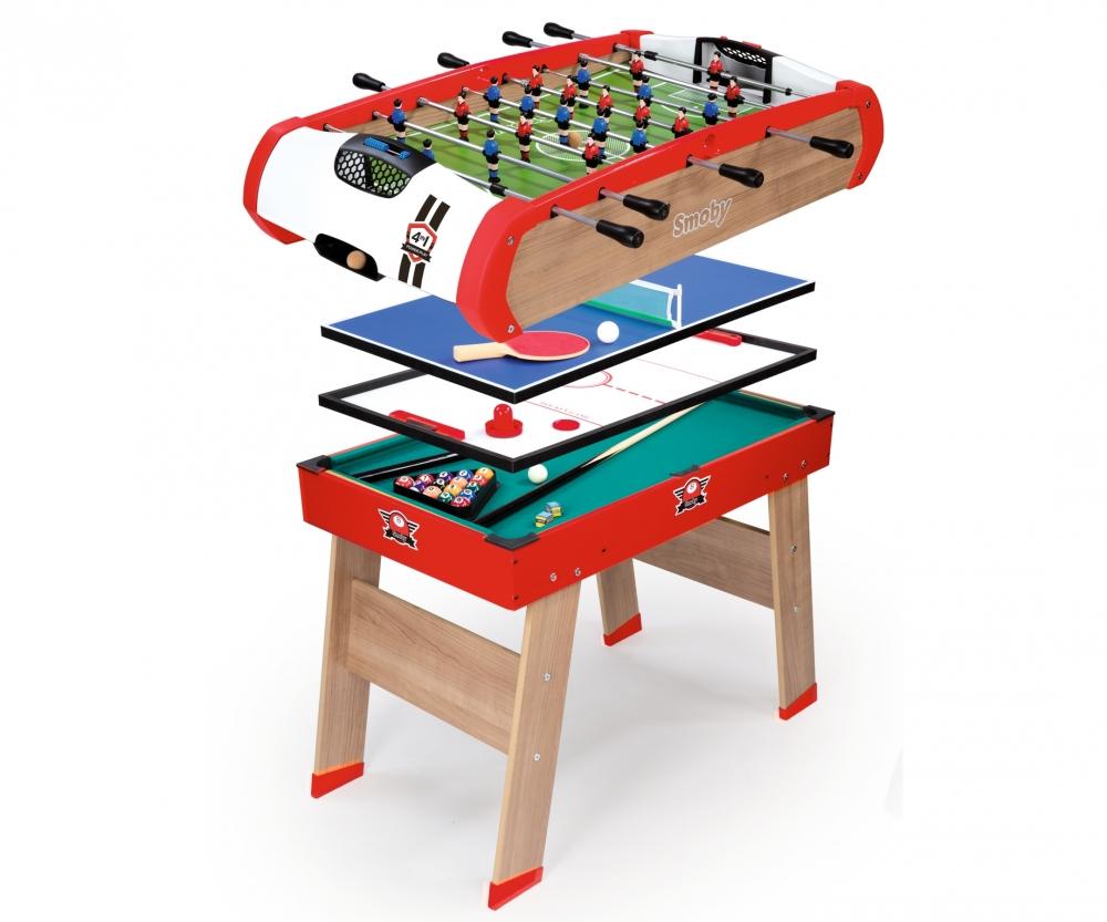 Multifunktions tischfu ball powerplay 4 in 1 for Table 4 en 1 intersport
