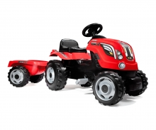 RED FARMER XL TRACTOR + TRAILER