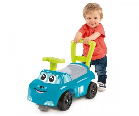 AUTO ROCKING BLUE RIDE-ON ELECT