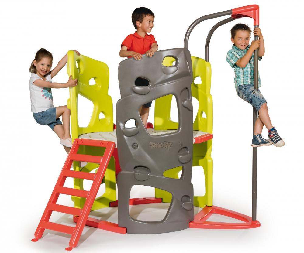 abenteuer kletterturm mit rutsche spielcenter outdoor marken produkte. Black Bedroom Furniture Sets. Home Design Ideas