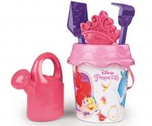 Disney Princess Eimergarnitur mit Gießkanne, 16 cm