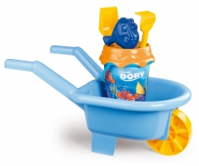 DORY GARNISHED WHEELBARROW