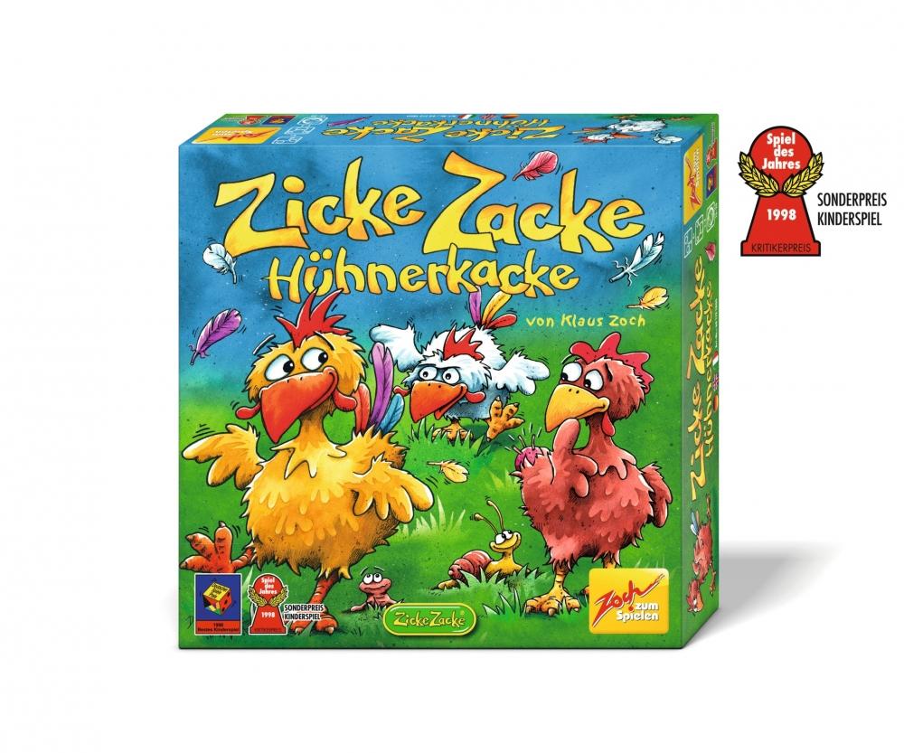 Zicke Zacke Hühner