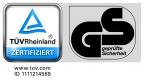 TÜV GS geprüfte Sicherheit