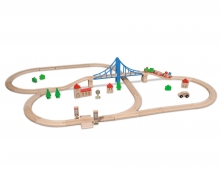 Eichhorn Train, Train Set with Bridge