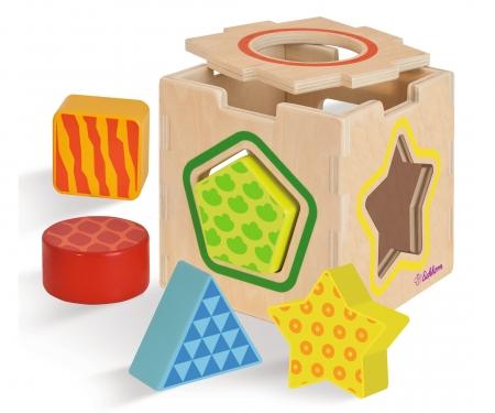 Eichhorn Color, Shape Sorting Box