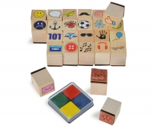 Eichhorn Wooden Stamp Set