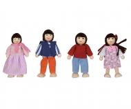 Eichhorn Puppenset Familie