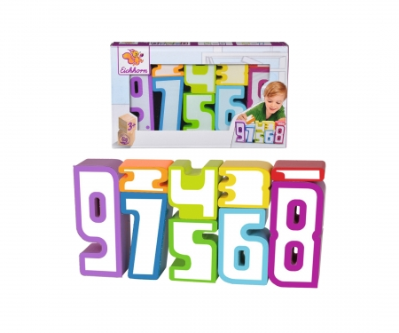 Eichhorn Wooden Blocks Calculation Blocks