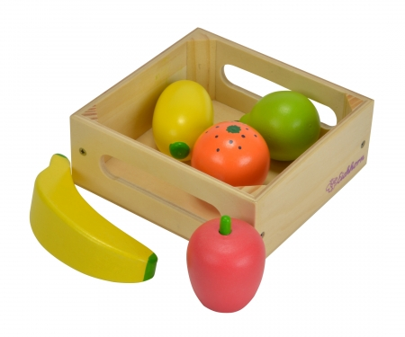 Eichhorn Wooden Box with Fruits