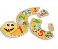 Eichhorn Formpuzzle-Zahlen