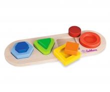 Eichhorn 3D Einlegepuzzle, Formen
