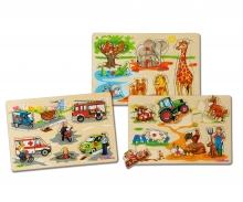 Eichhorn Pin Puzzle, 3-ass.