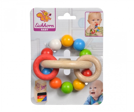 Eichhorn Baby, 3D Grasping Toy