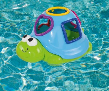 ABC Schwimmende Sortierschildkröte