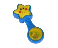 ABC Star Rattle with Light