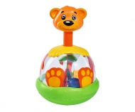 ABC funny Bear Spinning Top