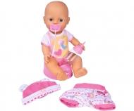 New Born Baby mit Kleidungsset