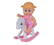 BB Little Bonny mit Schaukelpferd