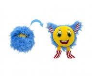 Furlocks big Plush Monster, blue