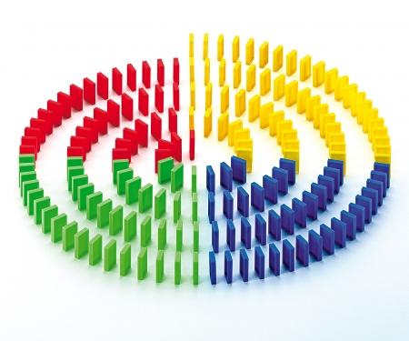 Games & More Domino Run 200 Bricks