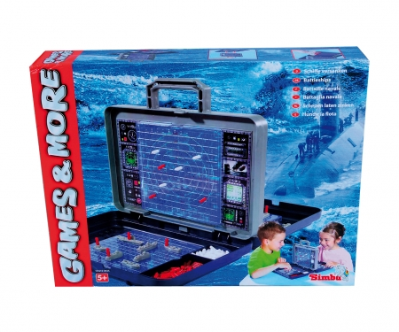 Games & More Sea Battle Game