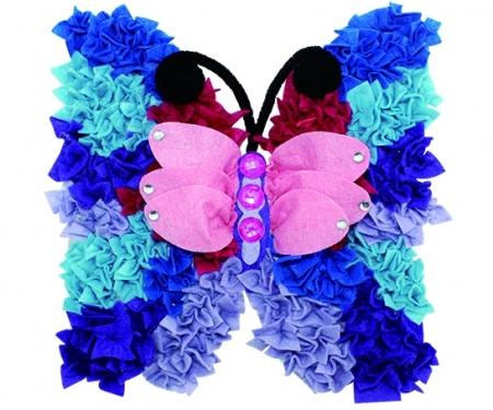 Art & Fun Filzbasteln Schmetterling