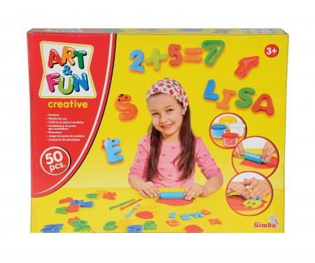 Art&Fun Knetset ABC und Zahlen