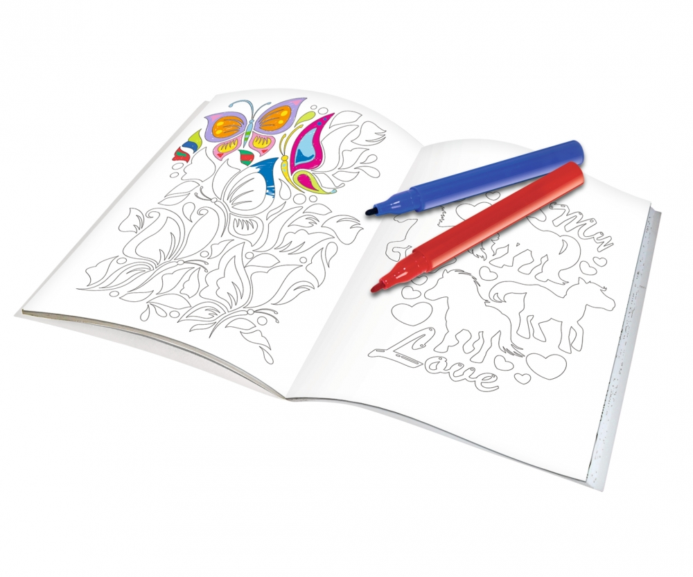 Art&Fun Color me Colouring Girls - Art & Fun - Creative - Themes ...