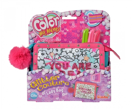 Color Me Mine Glitter Couture Lady Bag