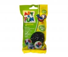 Art & Fun 1.000 Ironing Beads in Bag schwarz