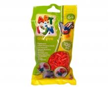 Art & Fun 1.000 Ironing Beads in Bag red