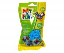 Art & Fun 1.000 Ironing Beads in Bag blue