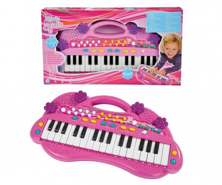 My Music World Girls Keyboard