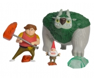 Trollhunter, 3 pcs Figurine Set, Toby