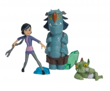 Trollhunter, 3 pcs Figurine Set, Claire